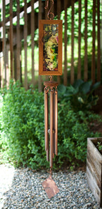 Wind Chime Art Paint Outdoor Original Windchimes