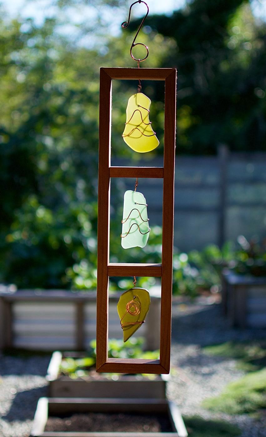 Sea Glass Suncatcher Cedar Copper Sun Catcher