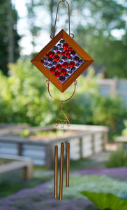 Wind Chime Colorful Kaleidoscope Suncatcher