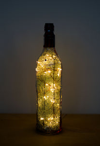 Lamp Indoor Outdoor Dyed Bottle Lamp