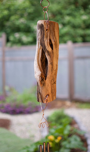Outdoor Driftwood West Coast Wind Chime