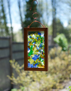 Suncatcher Kaleidoscope Beach Glass Handcrafted