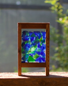 Suncatcher Colorful Glass Freestanding