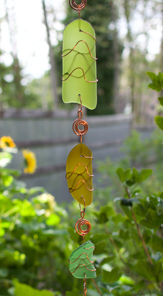 Wind Chime Sea Glass Outdoor Windchimes