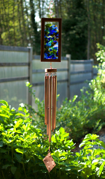 Kaleidoscope Wind Chime Mosaic Suncatcher Windchimes - Coast Chimes - 1