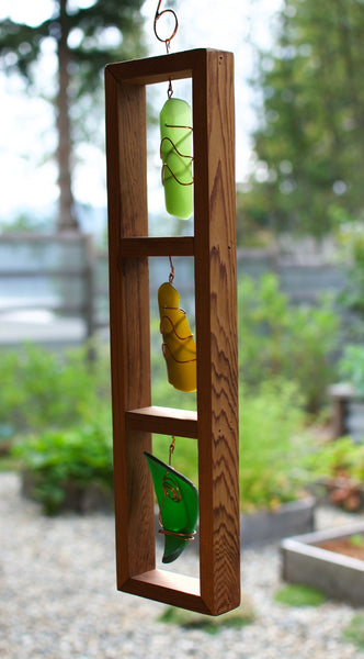 Suncatcher Stained Glass Cedar Copper Sun Catcher