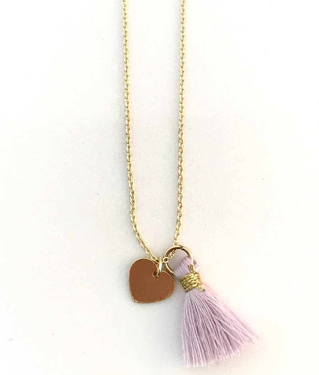 Tassel Heart Necklace