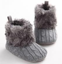 Woven Winter Baby Boots
