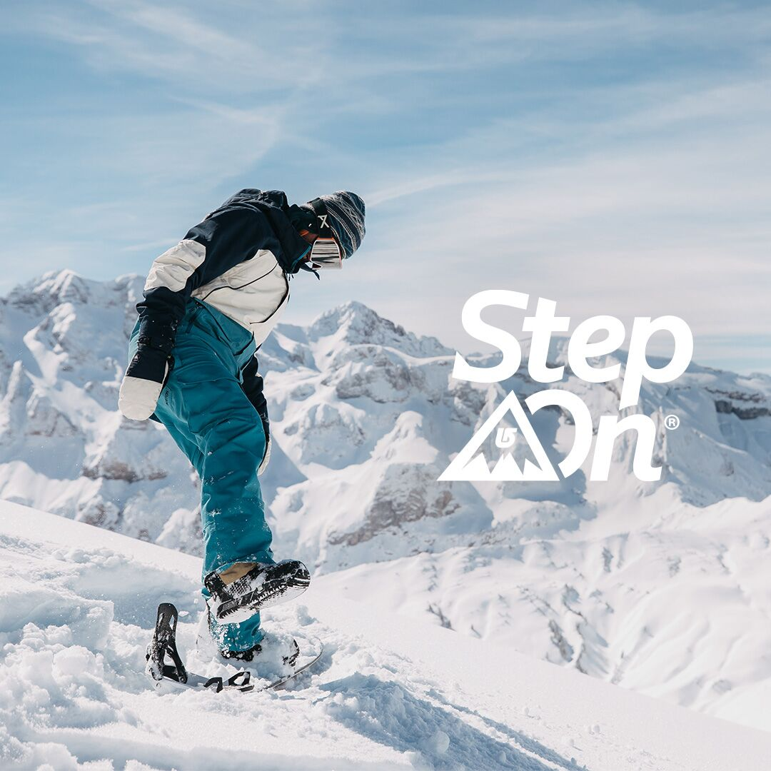 BURTON STEP ON IS HERE!