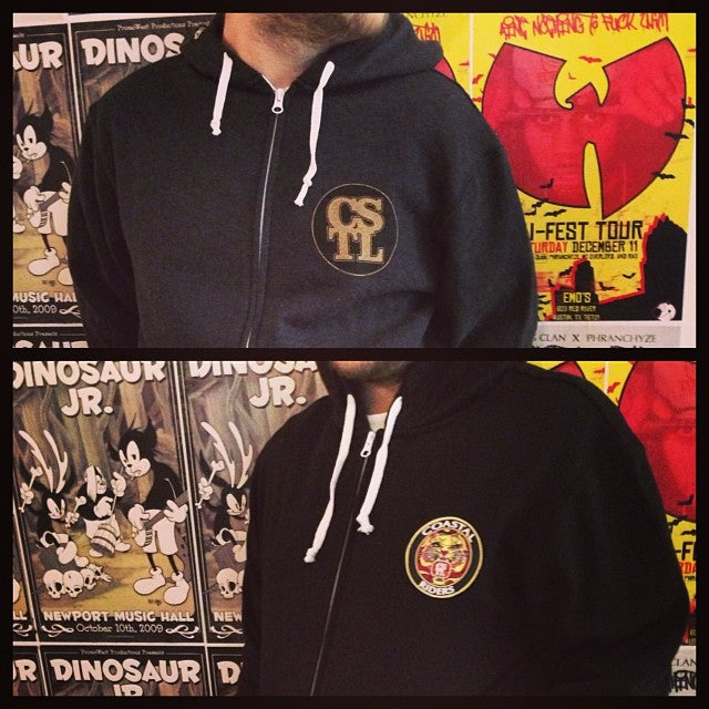 new hoodies for days. penny cstl logo and @seangenovese designed Old English inspired patch. $50 each comegetsome