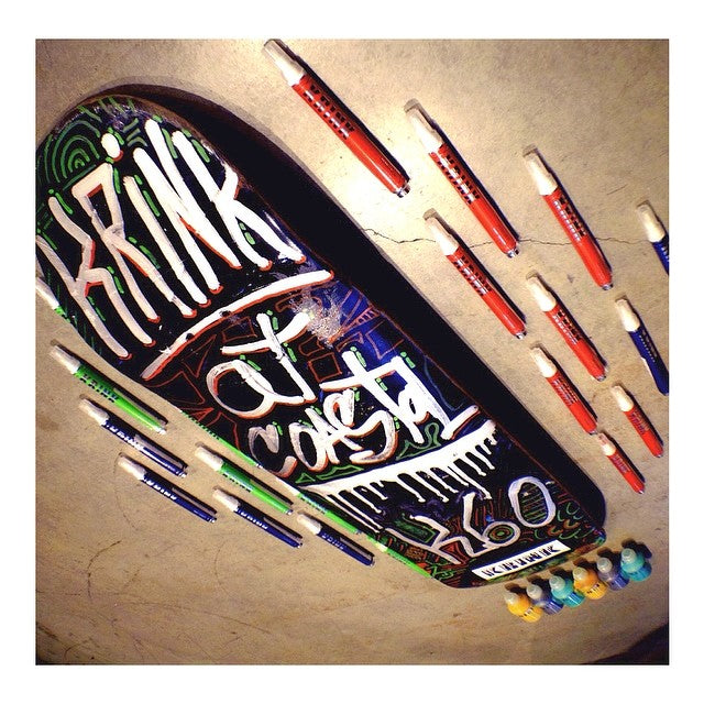 Just got in these wicked @KRINKNYC street pens. If your into law abiding art, being respectful to property... And not graffiti