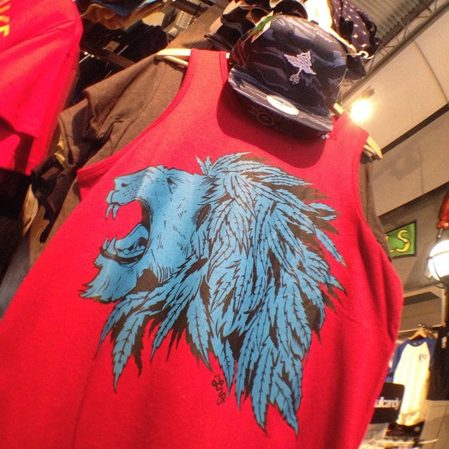@lrgclothing tanks and hats for days #hustletrees #chiefylion
