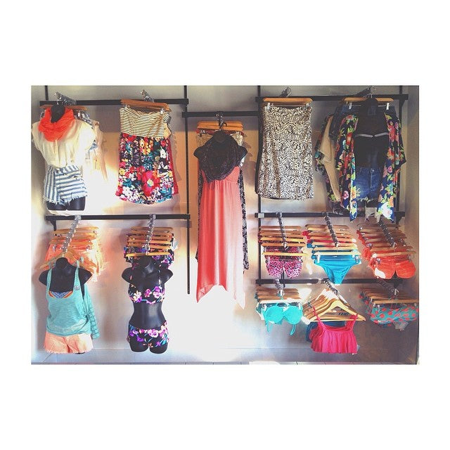 Get colorful for summer. Tons of bathing suits and sun dresses. #CSTLspring #CSTLladies