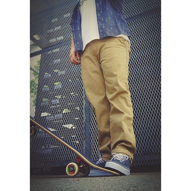 @levis chinos are great for skating. We got the goods. @vans @palaceskateboards @rvcaskate #CSTLspring #staffpicks #skate #skateboarding