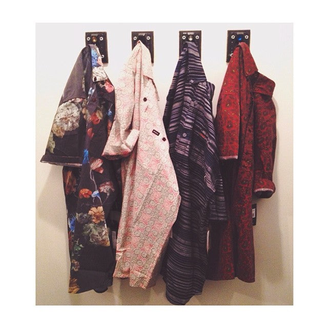 Some radical patterns on these button ups by @brixton @billabong @vans and @rvcaskate #CSTLspring