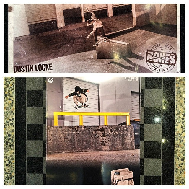New @dustin_locke @boneswheels and Mike Schulze aka @hailskat1n @jslv posters in store. @ultimatedist