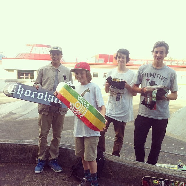 Congrats to all the winners of this year's Walnut Grove Skate Jam!! Winners of some sick gear #ayo