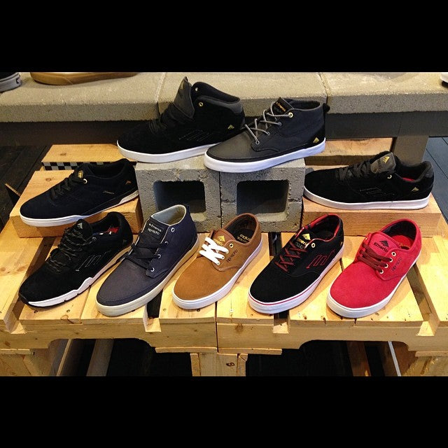 If you don't win the #EmericaGoesCoastal giveaway you can still get your hands on a fresh pair of @emerica shoes. #reynolds #herman #romero #westgate #provost #troubadour @timebombtrading