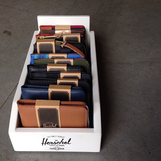 New @herschelsupply wallets are back and freshly stocked #hunnysforyomonies