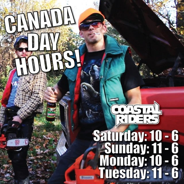 Happy Canada Long Weekend, eh! Don't forget to check our holiday hours before you jump in your truck and head over here, bud  Have a great weekend! #canadaday #eh #holiday #hours