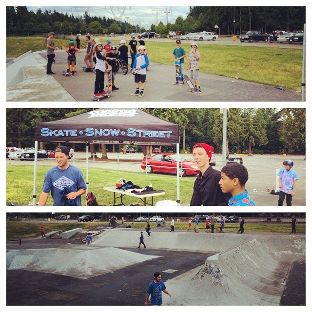 The #brookswood #coastalriders #hangtime is underway. Prizes and drinks and lots of skate rats. Come on out for goodtimes.