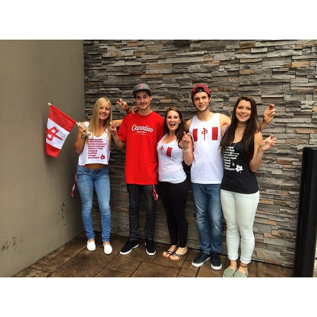 Canada day is coming up! grab some @thereddragons #canada inspired threads and show some love for the greatest country in the world! #july1 #canadaday #greatwhitenorth