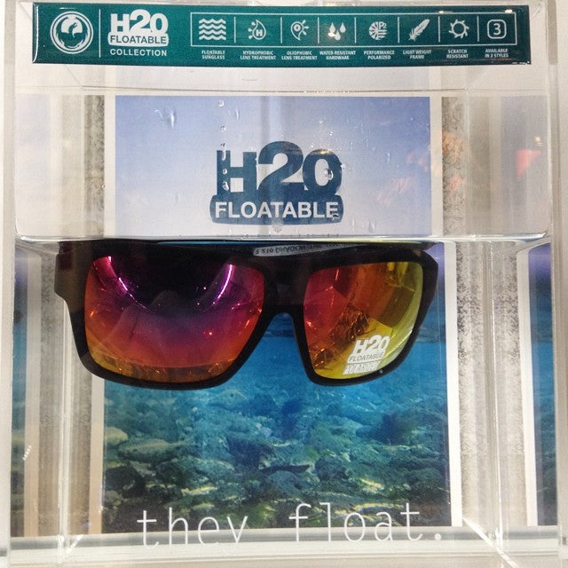 @dragonalliance floatable sunglasses. never lose your shades to the waters below again. perfect for days on the water. starting from $179.99 #h2ofloatable