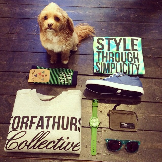 Check out some of the new goods that have hit the shop, including styles from @forfathurs @rvcaskate @supradist and more. Dog not included  #WellPacked #DogNotIncluded