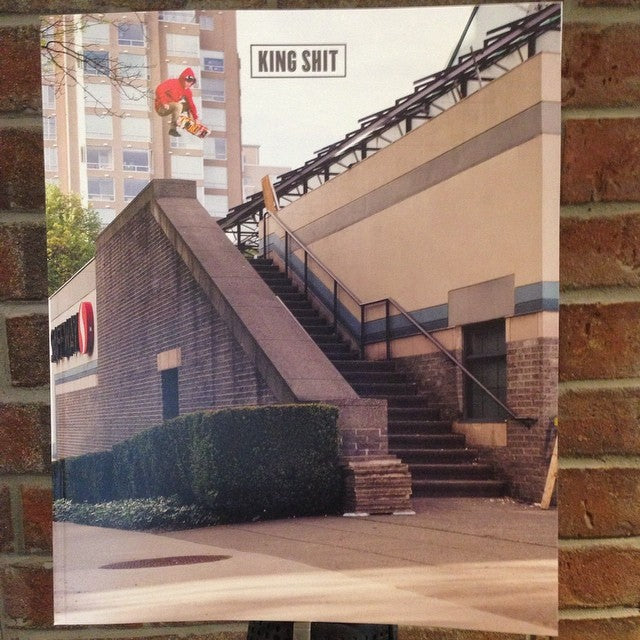 new @kingshitmag in shop today. come grab your #free copy. it's free. always. #kingshit #dope