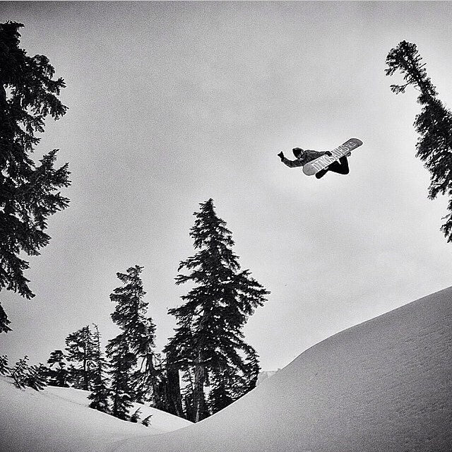 @seangenovese, big ass method. Stolen from @dinosaurs_will_die who stole it from @snowboardermag. Shot by @mikeyoshida. #snowboarding #dwd #methodwednesday? #feelslikemonday