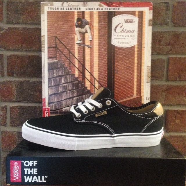 just got restock of the @vans @chimaferguson pro model shoe. great shoe for long days skating. #vans #chima