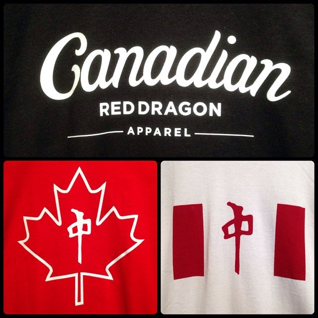 Canada day is coming up soon! get geared up in @thereddragons Canadian apparel. it's all buy 2 get the 3rd free. bring your friends and cash in #july1 #canadaday