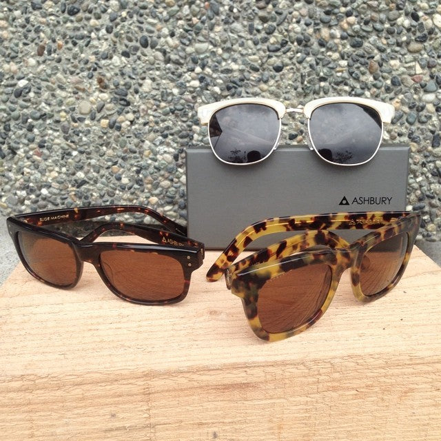 new @ashburyeyewear sunglasses in shop. tons of different styles. #ashbury