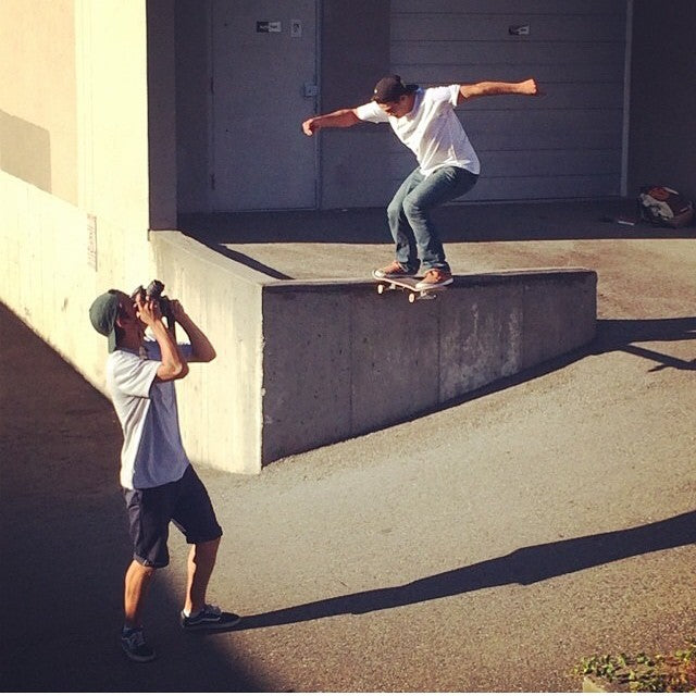 @zazula91 and @antoshcimoszko workin hard in the streets. Antosh clearly has the angles. #regram from @fuckimsorry