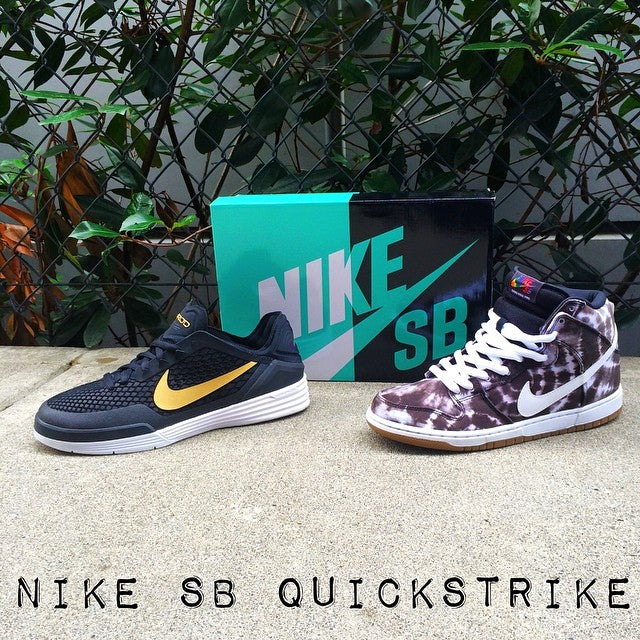 New @nikesb #quickstrikes. The @prod84 8 in our favourite colorway and the #DunkHi #tiedye. Both available now in limited quantities. #prod8 #nikesb #skateeverydamnday #coastalriders #cstl