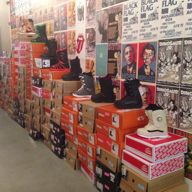 all our 2014 snow boots are 40% off!! come by and snag a pair and get set for the season. we've got tons of stock from @burtonsnowboard @thirtytwo @vanssnow @ridesnowboards @dc_snowboarding and @nikesnowboarding #winteriscoming #supportlocal