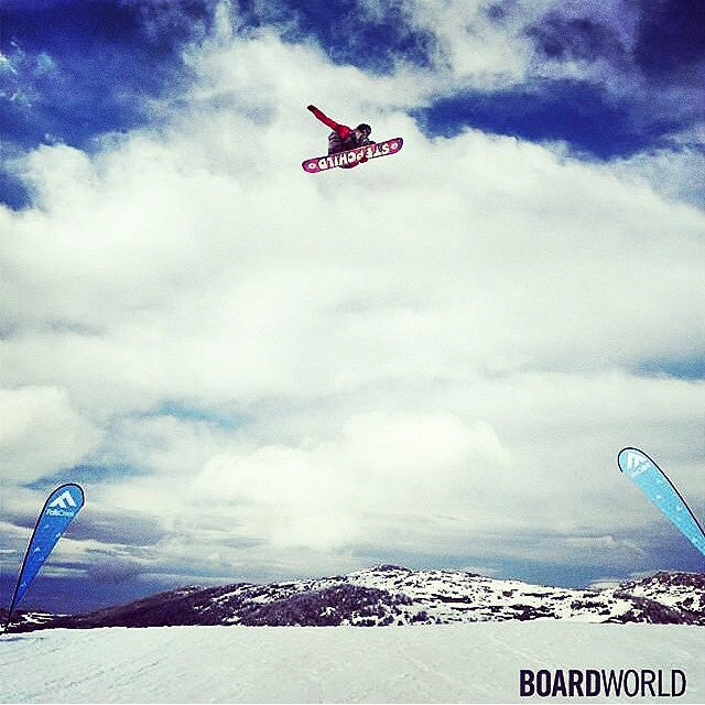 Coach Logan Short aka @thelsho sending it down-under. #regram from @stepchildsnowboards. #winteriscoming #getstoked