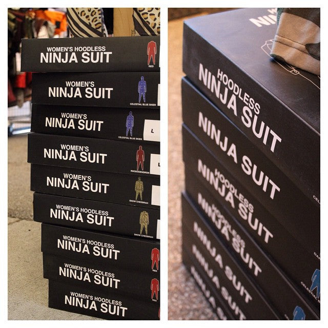 Men & women's 2014 @ninjasuit are 50% off at the #CSTLturkeysale. Get in here, sale continues today and tomorrow only. #snowboarding #snowboardsale