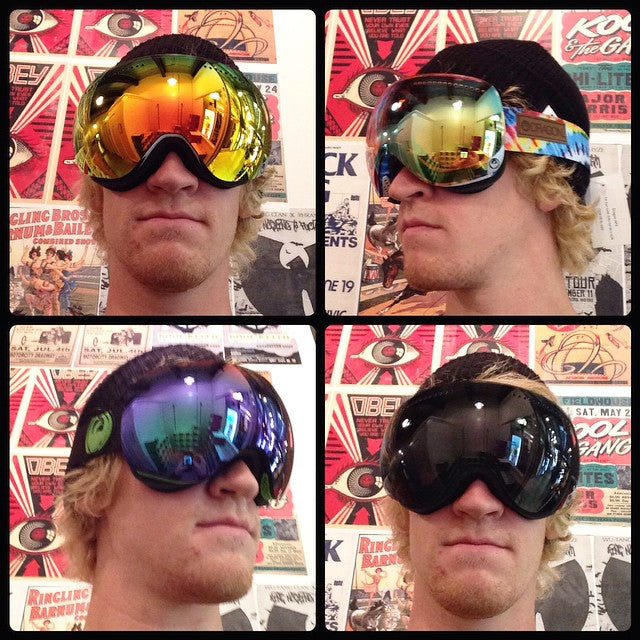 we're all stocked up on 2015 @dragonalliance #apx goggles. come get the best in frameless goggle technology. from $204.99.