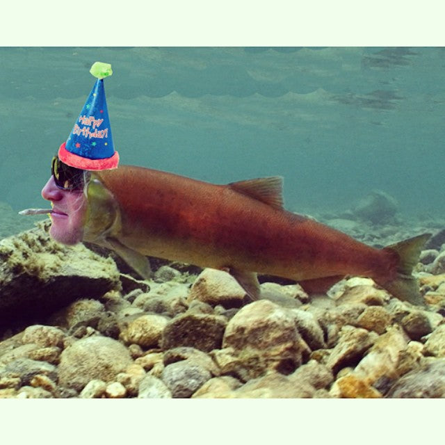 A big #HappyBirthday to one of the best people we know, @salmonarms commander in chief @corkmcnortis. Happy birthday horn. Keep swimmin up stream!