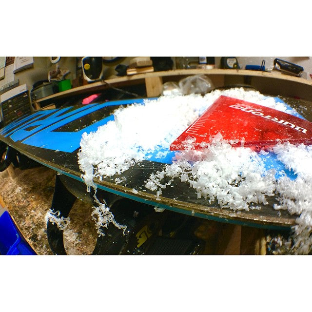 Come get your board ready for the season. We offer board waxing, edge sharpening and various repairs. #CSTLwinter #prayforsnow