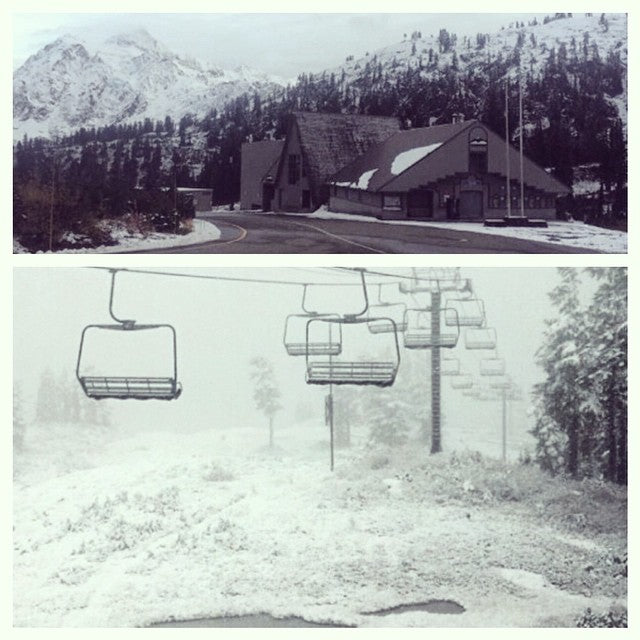 @mtbakerskiarea has been getting snow all the way to the bottom. #letitsnow