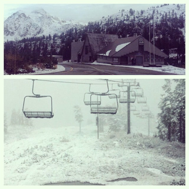 @mtbakerskiarea is has been getting snow all the way to the bottom. #letitsnow