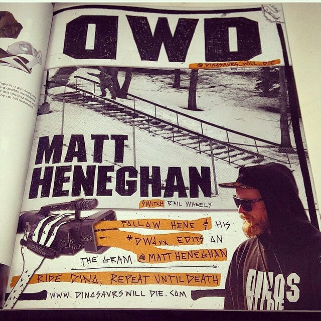 Ol Red Beard himself @mattheneghan got a full page @dinosaurs_will_die ad in the new @kingsnowmag! Congratulations Matt. Hard work pays off! #thepeopleschamp #themayorofmtseymour #dwd