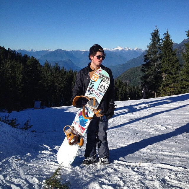 Staffer @bradleycairns up at @cypressmtn getting some early season turns in. #weouthere #snowboarding #coastalRiding