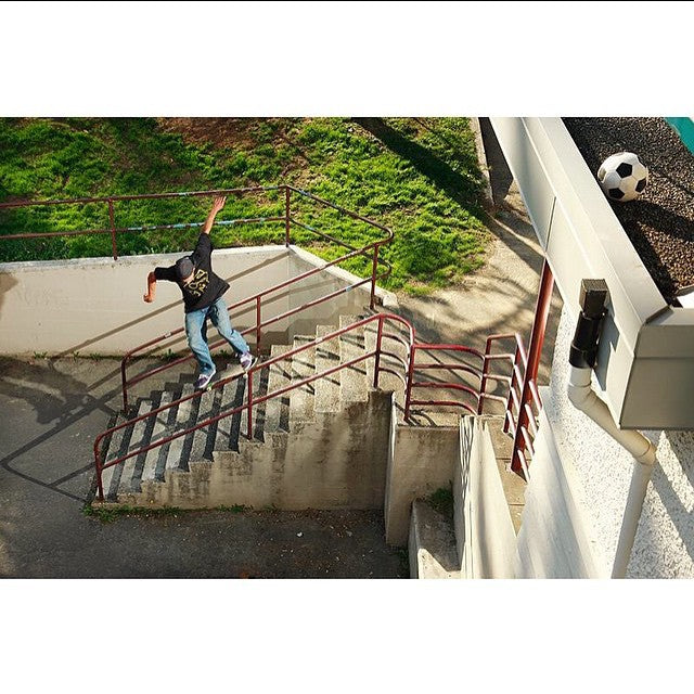 #TBT to Adam Fontaine with a switch 50-50 right out the car. Shot by @keithhenry. #CoastalRiders #AdamFontaine #HaveYouSeenHim?