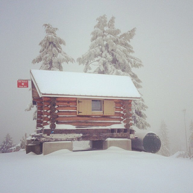 snow up @mtseymour today #cstlwinter