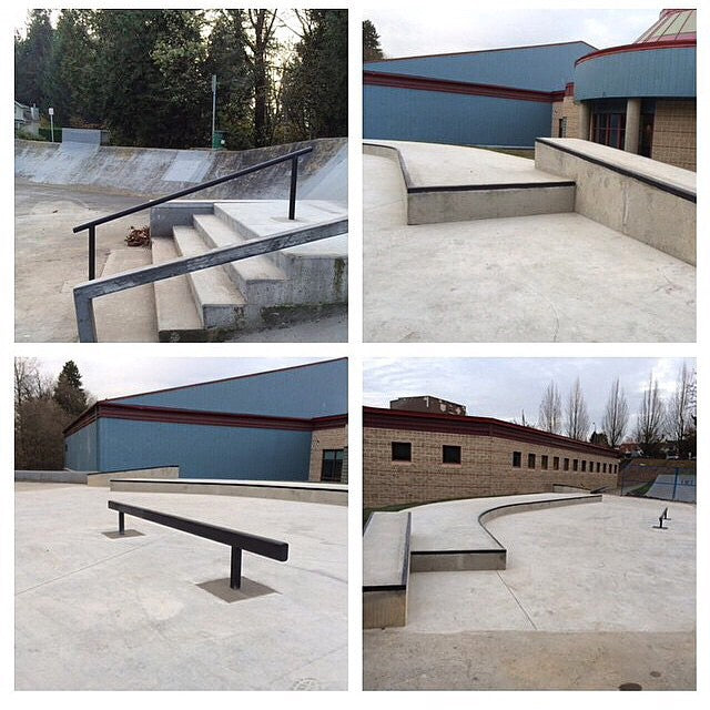 Phase 1 of the #WalnutGrove skatepark renovation is completed and looks awesome. Stoked to be involved in this process. #ratpark #rp #regram from @nawcomply