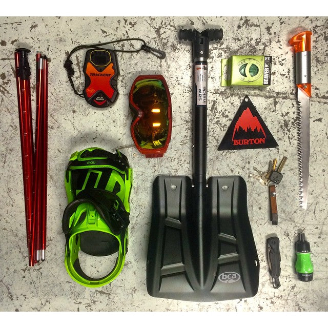 Just got in some @backcountryaccess gear! Shovels - probes - beacons, all you heed to stay safe out of bounds. #CSTLwinter #backcountry @anonoptics @burtonsnowboards @dakine @nowbindings @leathermansport #wellpacked