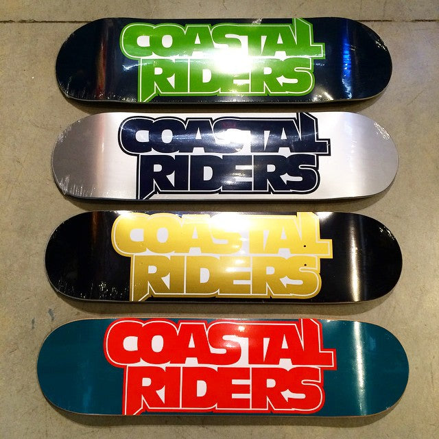 Just in time for Christmas. New #CoastalRiders #skateboards. #NFL inspired colors. #seahawks #cowboys #saints #dolphins